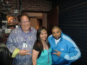Jeff Pulver, DJ Khaled, and Annie Tran