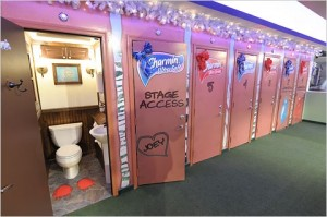 Charmin Bathroom in Times Square