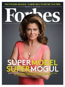 Kathy Ireland - Forbes listed