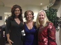 Kathy Ireland, Julia Rosien and Betty-Lynn Eller